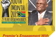 NORTHERN CAPE PREMIER ENGAGES NIEWOUDTVILLE YOUTHS