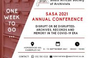 SASA 2021 Annual Conference